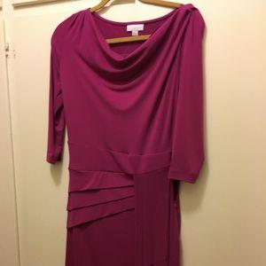 New York & Co Magenta Dress